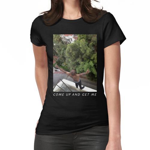 Fahrt auf der Dachterrasse Funtime Black Lineless Frauen T-Shirt