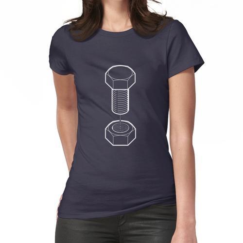 Schraube und Mutter Frauen T-Shirt
