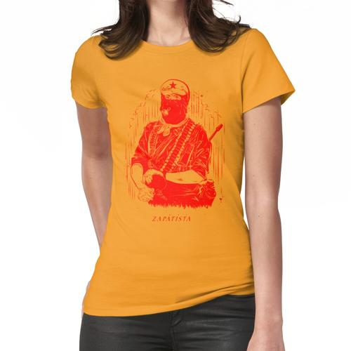 roter Zapatist Frauen T-Shirt