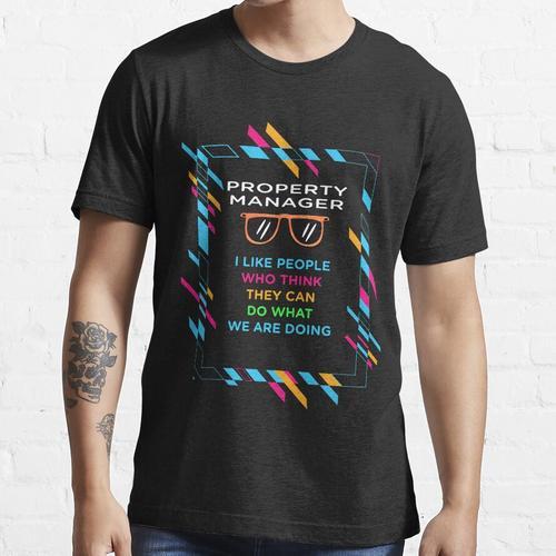 HAUSVERWALTUNG Essential T-Shirt