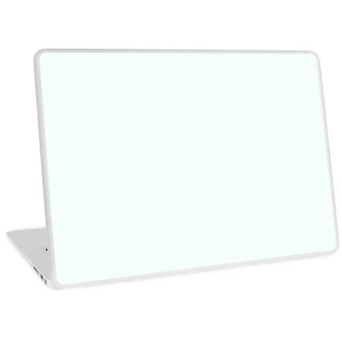 Minze Cremeweiß Laptop Skin