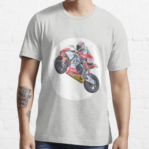 Radrennhelden in Aktion - 'Max Biaggi' Essential T-Shirt