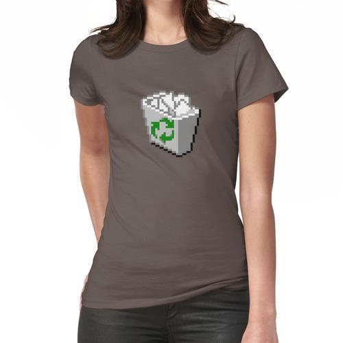 Windows 95/98 Papierkorb / Papierkorb Frauen T-Shirt