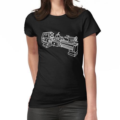Mechaniker Drehbank Frauen T-Shirt