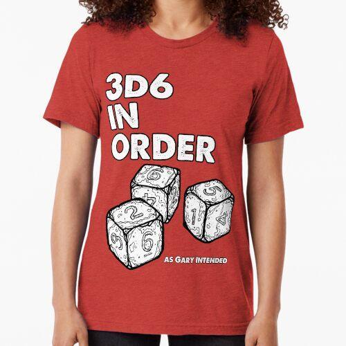 3D6 in Reihenfolge. Wie Gary meinte. Vintage T-Shirt