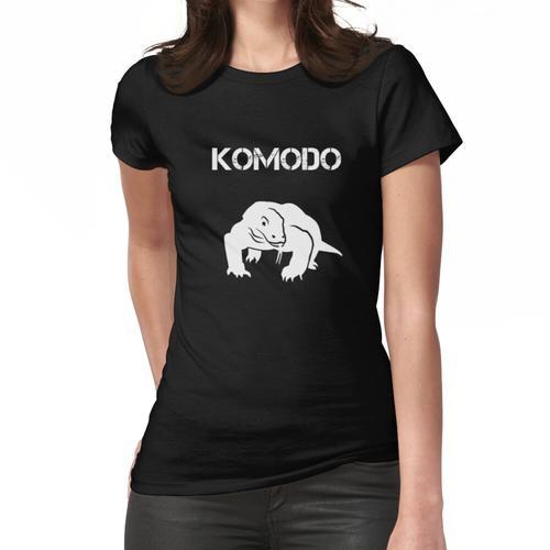 Komodo Drache T-Shirt Frauen T-Shirt