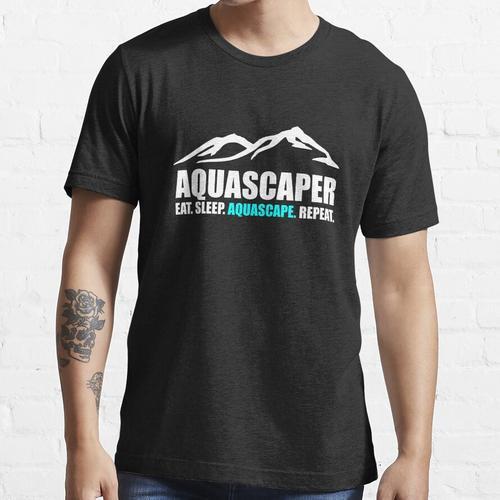 Aquascaping Aquascape Geschenk Essential T-Shirt