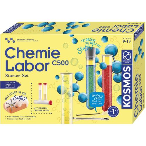 Kosmos Experimentierkasten Chemielabor C 500, Made in Germany mehrfarbig Kinder Ab 9-11 Jahren Altersempfehlung
