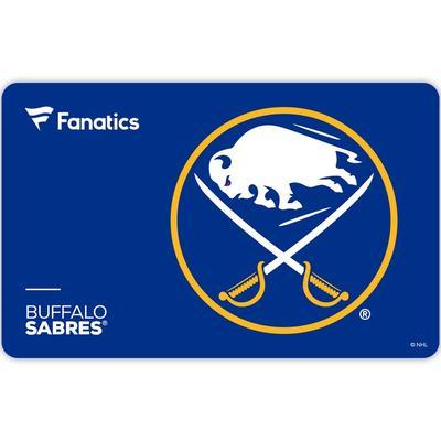 Buffalo Sabres Fanatics eGift Card ($10 - $500)
