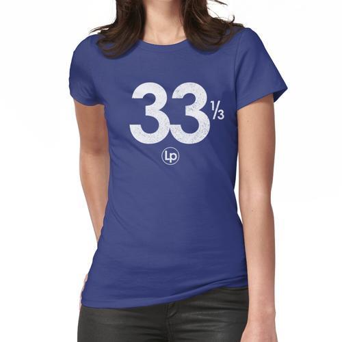 Audiophile 101 = 33 & amp; amp; 1/3 Frauen T-Shirt