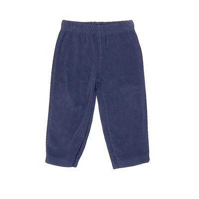 Carter's Casual Pants - Elastic: Blue Bottoms - Size 12
