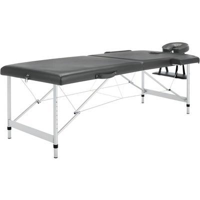 Table de massage 2 zones Cadre e...