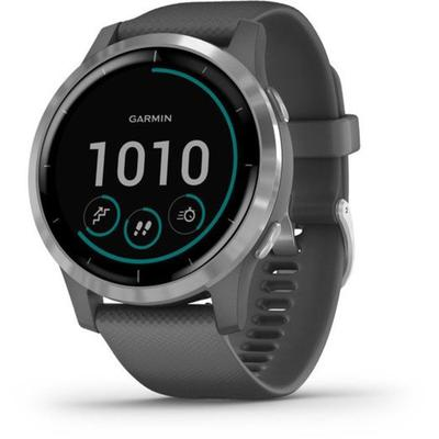 """Garmin Watches Vivoactive 4 GPS Smartwatch Shadow Gray/Silver 0100217401 Model: 010-02174-01"""
