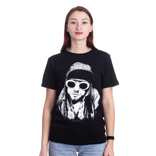 Kurt Cobain - One Colour - - T-Shirts