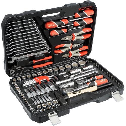 YATO Werkzeugset YT-38901 Werkzeugsatz,Steckschlüsselsatz,Werkzeug Set,Werkzeug Kit