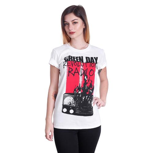 Green Day - Radio Combustion White - - T-Shirts