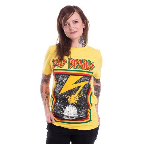 Bad Brains - Bad Brains Yellow - - T-Shirts