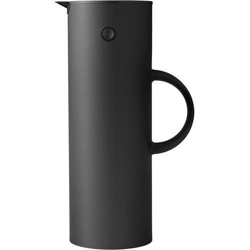 Stelton Isolierkanne EM 77, 1 l, Kunststoff, matt schwarz Kannen Geschirr, Porzellan Tischaccessoires Haushaltswaren