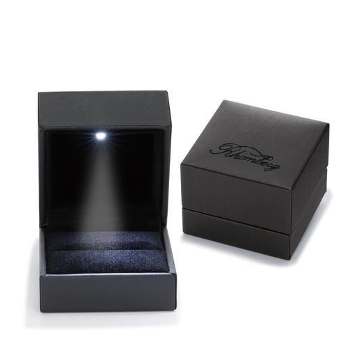 Schmuckverpackung für Ring mit Beleuchtung