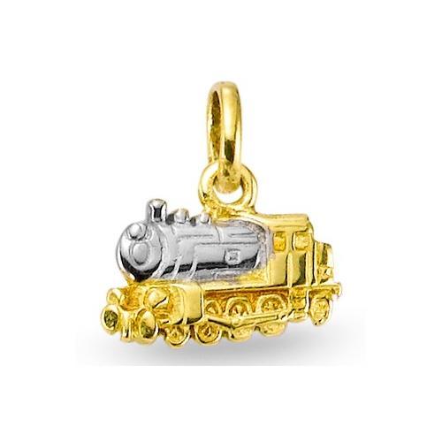 Anhänger 750/18 K Gelbgold Lokomotive