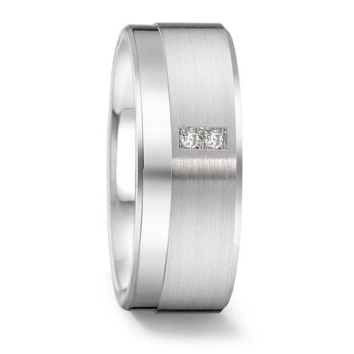 Ring Silber 925 mit Diamanten