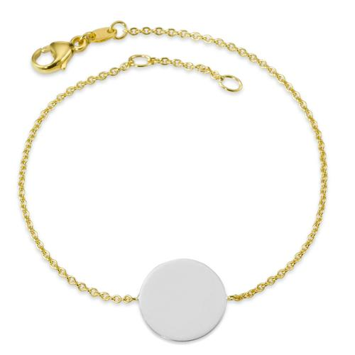 Armband Gold 750 mit Scheibe
