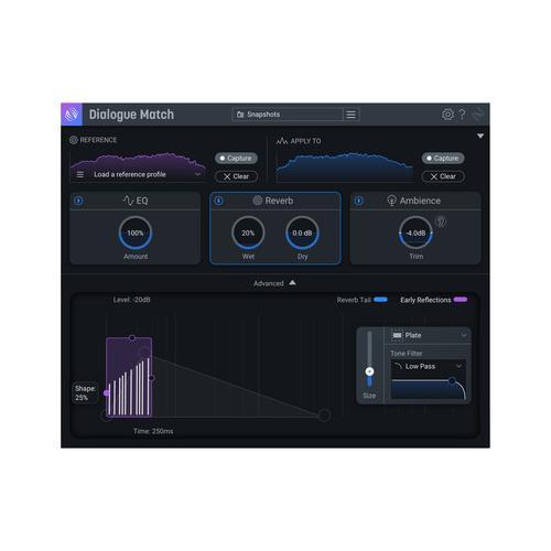 iZotope Dialogue Match CG Any Std/Adv