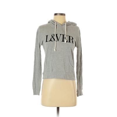 Forever 21 Pullover Hoodie: Gray...