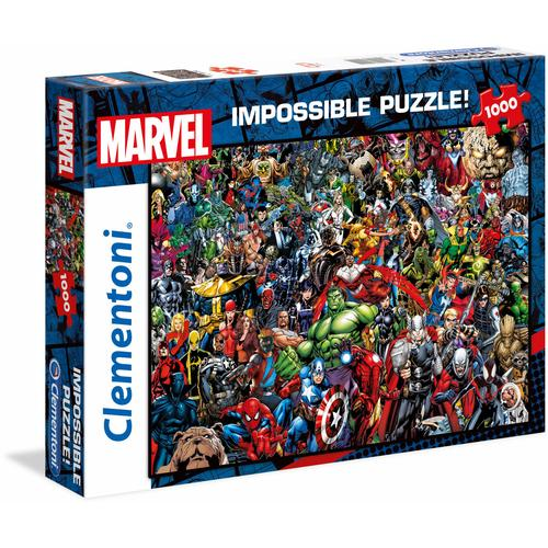 Clementoni Puzzle Impossible Collection -Marvel, Made in Europe bunt Kinder Ab 9-11 Jahren Altersempfehlung