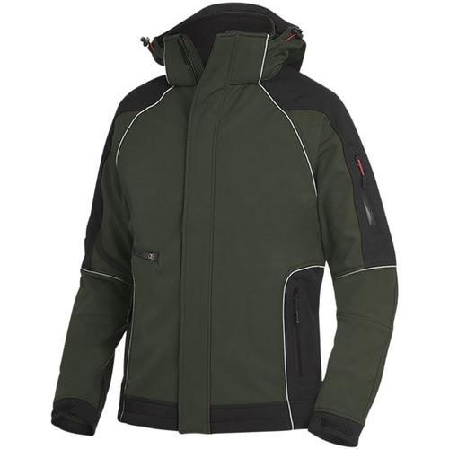 Softshell-Jacke »WALTER« Größe L grün, FHB