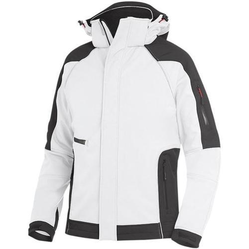 Softshell-Jacke »WALTER« Größe L weiß, FHB
