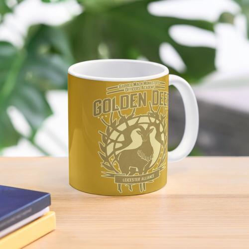 Goldener Hirsch Tasse