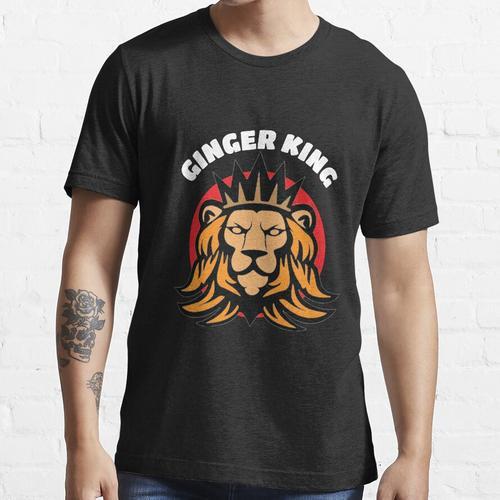 Hot Ginger King Hemd - Ginger Hair Tee - Mann Ginger Hair - Ginger Guy Hemd - Ging Essential T-Shirt