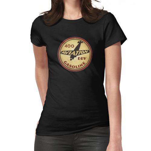 Retro Flugbenzin Frauen T-Shirt