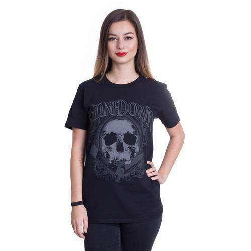 Shinedown - Pocket Knife Skull - - T-Shirts