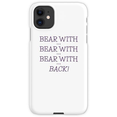 tragen mit ... tragen mit ... iPhone 11 Handyhülle