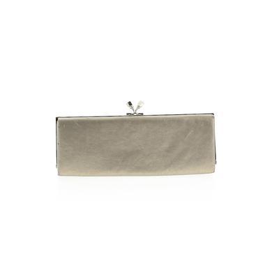 Lulu Townsend Clutch: Tan Solid Bags