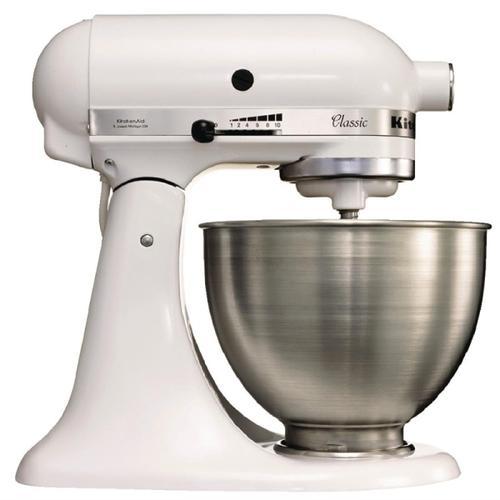 KitchenAid Classic Küchenmaschine K45 weiß 4,3L