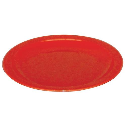 Kristallon Teller rot 17,2cm, Packungsinhalt: 12 Stück