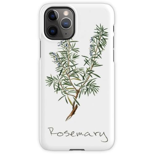 Rosmarin-Kraut, Rosmarin-Pflanze, Rosmarin-Druck, Rosmarin-Kunstdruck iPhone 11 Pro Handyhülle