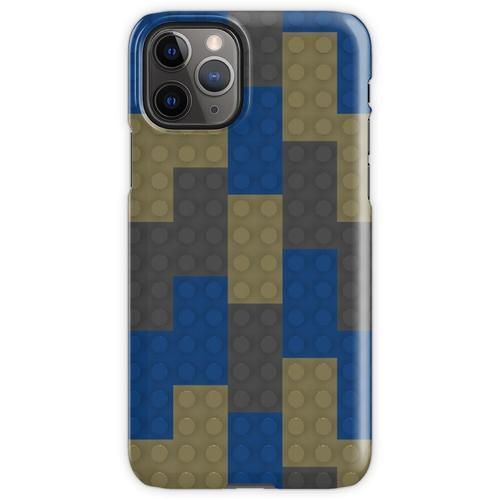 Blauer Backstein Beiger Backstein Grauer Backstein iPhone 11 Pro Handyhülle
