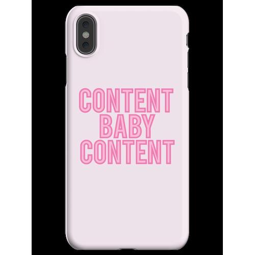Inhalt Baby Inhalt iPhone XS Max Handyhülle