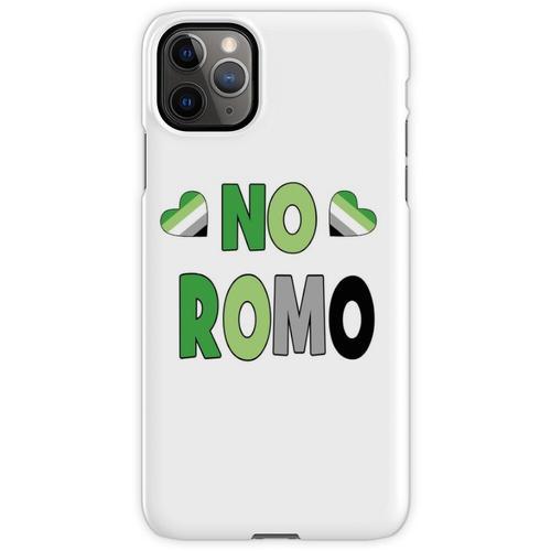 Kein Romo-Geschenk Aromantic Aromantic Gift Kein Romo Kein romantisches iPhone 11 Pro Max Handyhülle