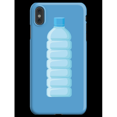 Plastikflasche iPhone XS Max Handyhülle