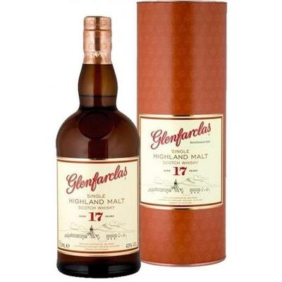 Glenfarclas Scotch Single Malt 17 Year 750ml