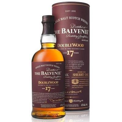 The Balvenie Scotch Single Malt 17 Year Doublewood 750ml