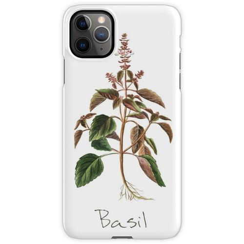 Basilikum-Kräuter-, Basilikum-Print, Basilikum, Basilikum Kunstdruck iPhone 11 Pro Max Handyhülle