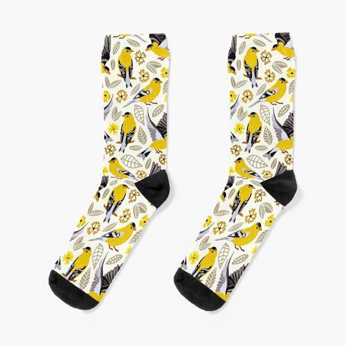 Dompfaffen Socken