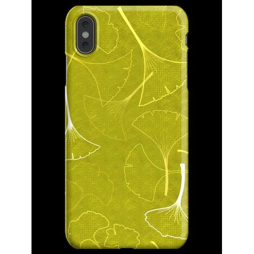 Denken Sie Ginkgo Green iPhone XS Max Handyhülle