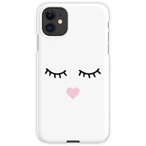 Süße Wimpern - Wimpern, Mascara iPhone 11 Handyhülle